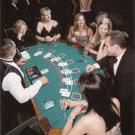 I think I have a contact that could bring in gaming tables....could be fun....