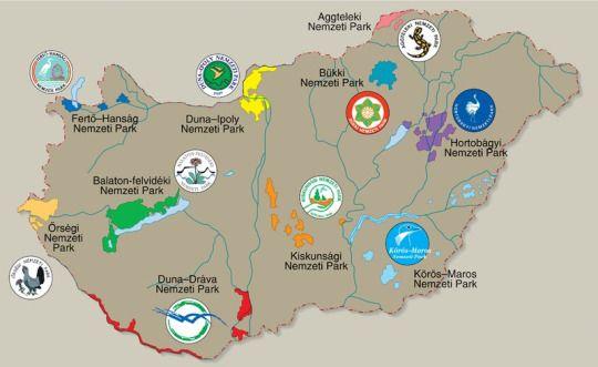 Magyar nemzetiparkok
