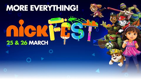 Date: 25 - 26 March 2017 Bigger and better than ever, NickFest will welcome thousands of kids and families to The TicketPro Dome in Johannesburg on 25 and 26 March for an amazing weekend of music and family fun, packed with entertainment, activities, events and experiences for all ages.
