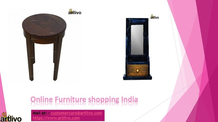 Buy Latest Solid Wooden Furniture Online in India from Artlivo Online Store. Furnish your home with selective range of home, office and living room furniture at better price. Get amazing and traditional design by visiting our website: https://www.artlivo.com/furniture