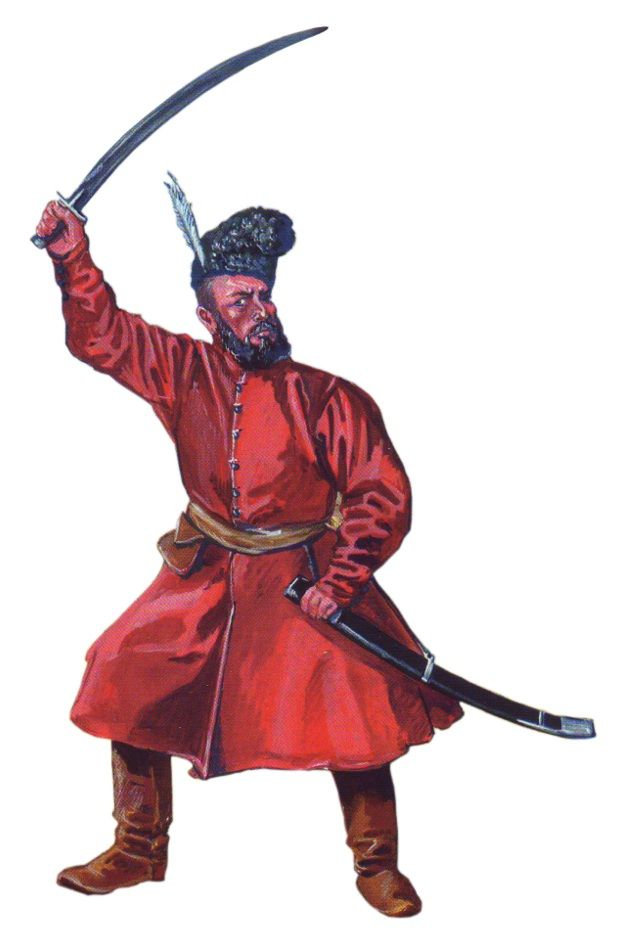 Wallachian infantryman, Thirty Years' War (1618-1648)
