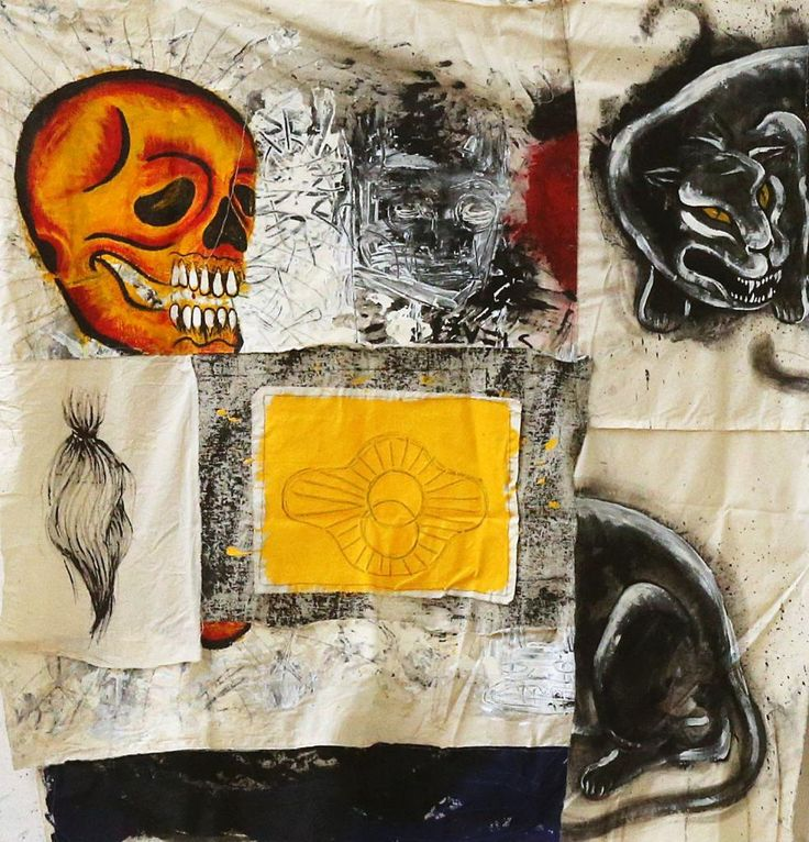 Clandistino #1 by Sally Santana #art #artist #painting #drawing - Beauton Art Gallery - http://beautonart.com | http://beautonart.dk