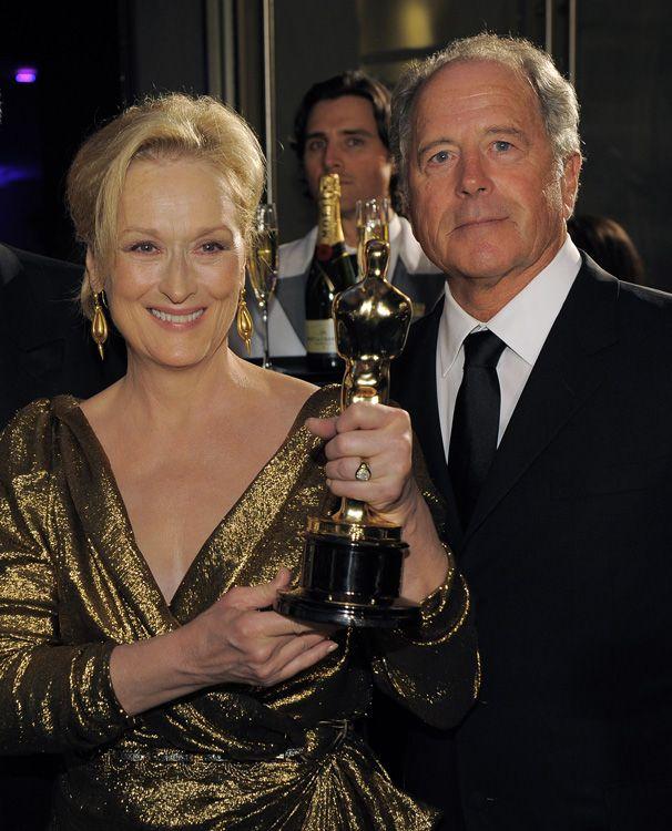Meryl Streep and Don Gummer
