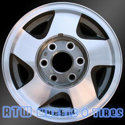 "Chevy Blazer wheels for sale 1992-1994 16"" Machined Charcoal rims 5015 - http://www.rtwwheels.com/store/shop/chevy-blazer-wheels-for-sale-92-94-16-machined-charcoal-rims-5015/"