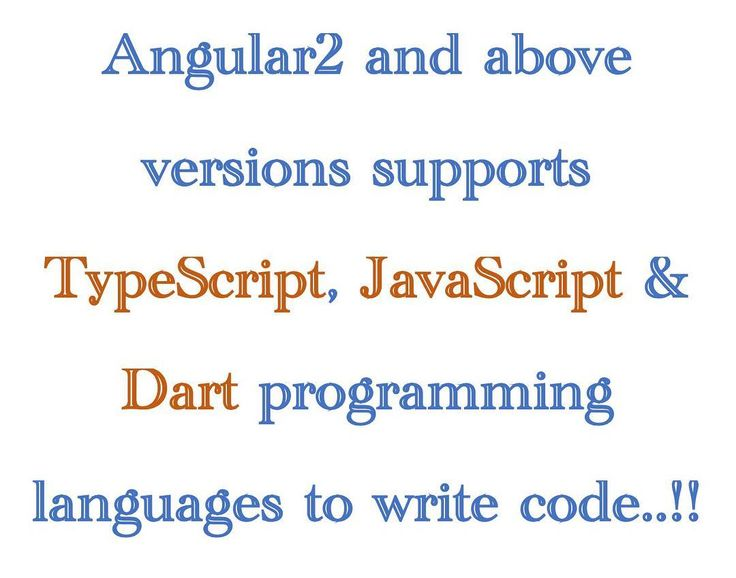 Angular 2 supported programming languages..!! #html #css #ui #coding #bootstrap #angularjs #frontend  #javascript #jquery #learning #webdevelopment #sql #data #styles #webdesign #java #dotnet #php #jsp #graphics #gui #interface #less #sass #react #yui