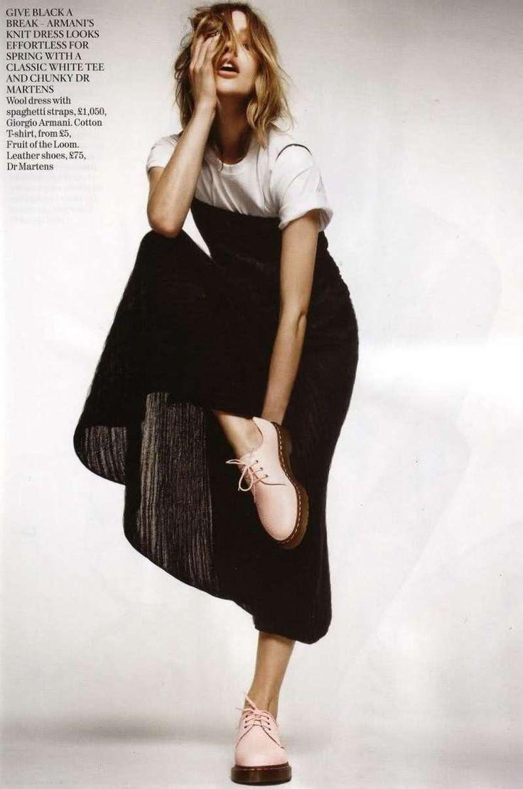 Free-Spirited Fashion Shoots : Vogue UK March 2011