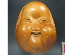 "Otafuku mask for sale 23.5cm (9 1/4"") long, 18cm (7"") wide Price:$100.00"