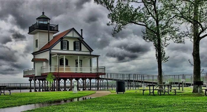 Roanoke River Lighthouse in Edenton
