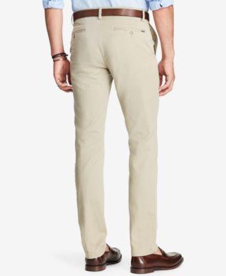 Polo Ralph Lauren Men's Slim-Fit Chino Pants - Beige Khaki 36x32