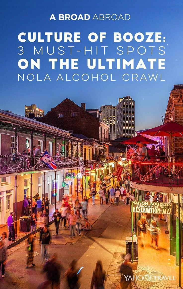 """New Orleans is a drinking city.  From the oldest bar in America, to legally being able to take your drink outside in a """"go cup,"""" to drive-through daiquiris, and the invention of the Sazerac cocktail, NOLA is all about booze culture.  Legend has it that back in the day, the pirate Jean Lafitte used the"""