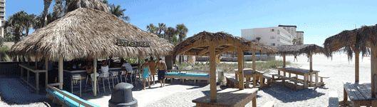 Lido Key Tiki Bar at the Ritz-Carlton Beach Club