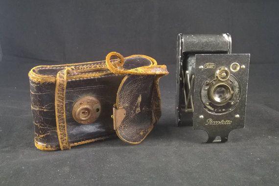 Zeiss Ikon Piccolette Folding Roll film camera by SmalandVintage