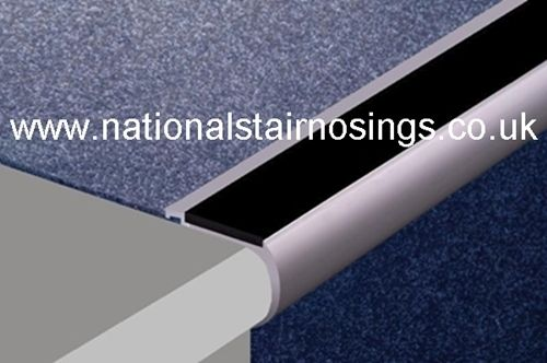 Best Heavy Duty Aluminium Rounded Anti Slip Stair Nosings For Carpets Stair Nosing Stairs Carpet 640 x 480
