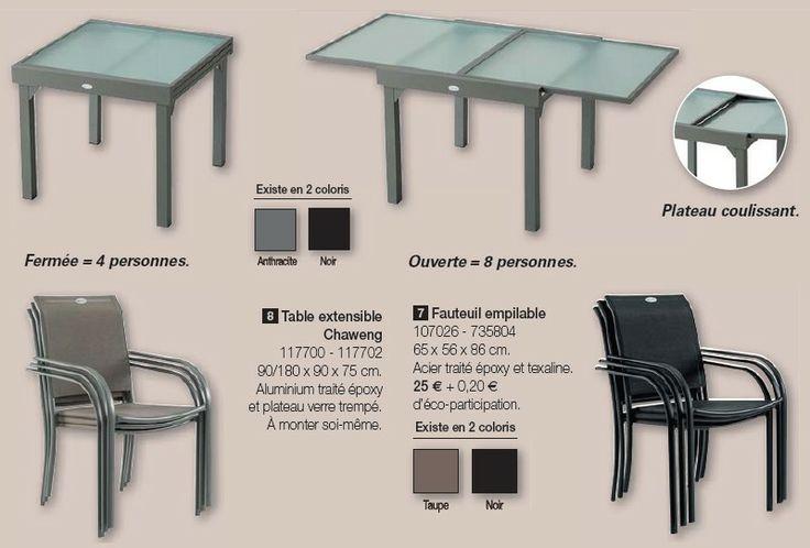 Table Extensible Chaweng 4 8 Personnes De La Nouvelle