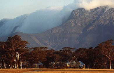 Clouds rolling over Bluff Knoll - Stirling Ranges, Albany WA