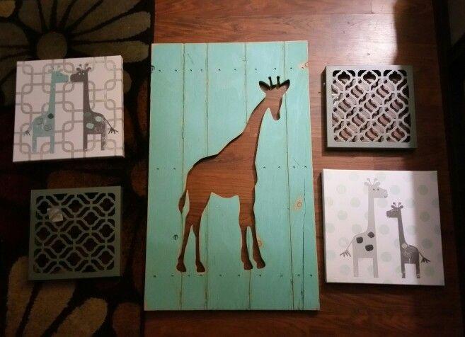Nursery theme peanut shell uptown giraffe. @babiesrus