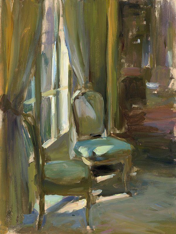 Two Chairs giclee print - Whitney Gallery ~ Contemporary Fine Art in Laguna Beach, California