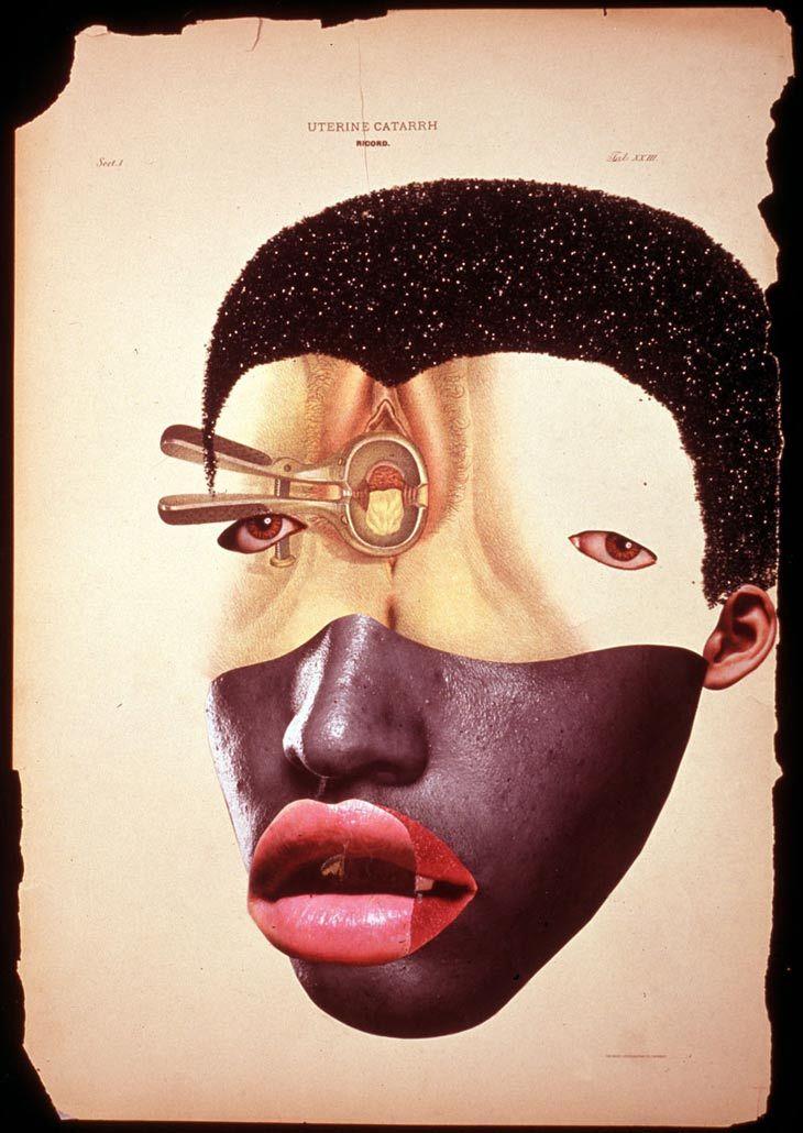 Masque hybride de Wangechi Mutu