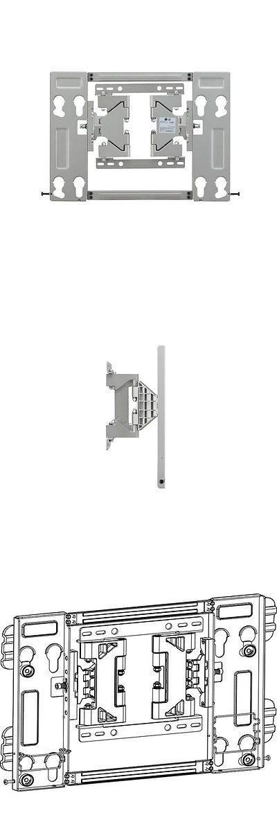 TV Mounts and Brackets: Lg Ez Slim Low Profile Television Oled Wall Mount For Lg 55-65 Tv BUY IT NOW ONLY: $74.36