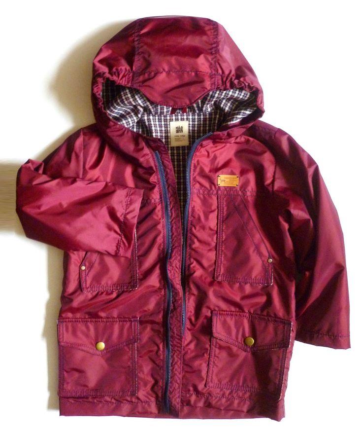 Чудесные превращения: Куртка для мальчика на весну и краткий МК.