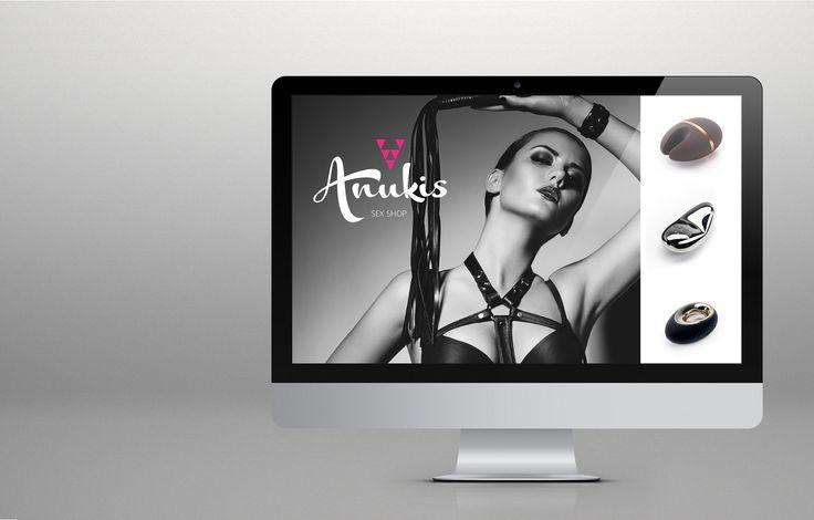 Projeto de branding desenvolvido para a Anukis Sex Shop. Identidade de marca inspirada na deusa egípcia detentora de um poder místico ligado à sexualidade, sedução e conquista. #musendesign #anukissexshop #branding #sexshop