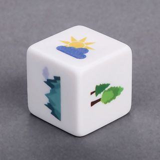 Custom Medium straight corner Dice. Go to BoardGamesMaker.com  #BGM #boardgame #boardgames #dicegames #dice