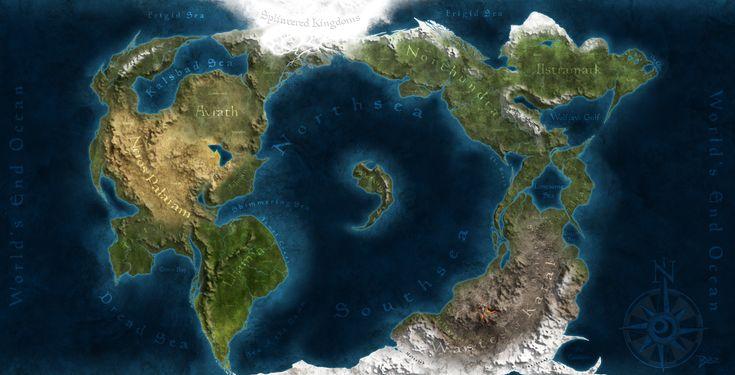 fantasy world map - Google Search