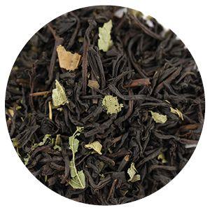 Item Code: 1117 Cocoa Mint, 2.65 oz (75 g)  Ingredients: Black tea, blackberry leaves, peppermint leaves, natural flavors.