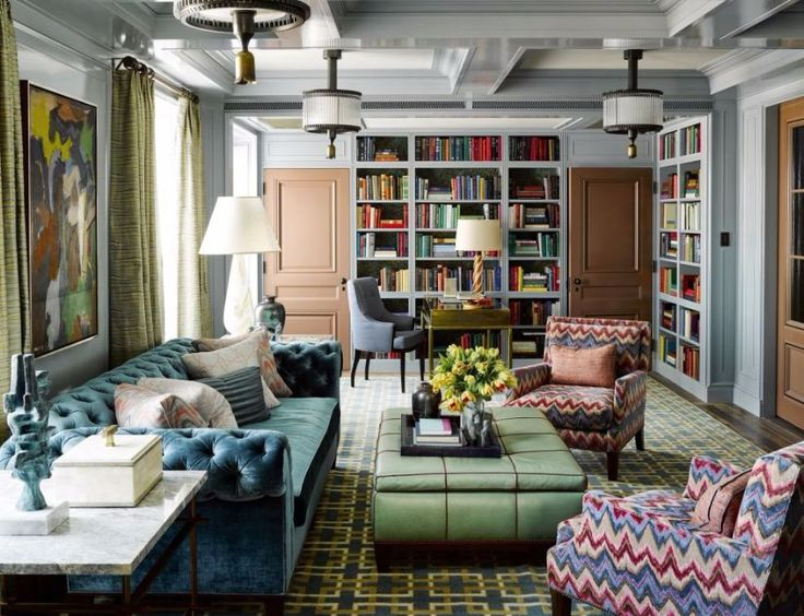 7 Astonishing Living Room Ideas By Steven Gambrel | Modern Sofas. Velvet  Sofas. Chesterfield Part 91