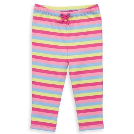 Kite Pink Lime Stripy Leggings
