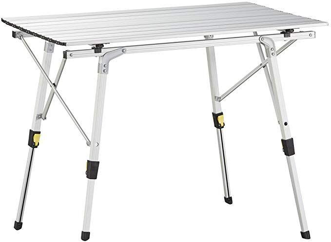 Uquip Variety M Aluminium Camping Table Medium 35 X 21