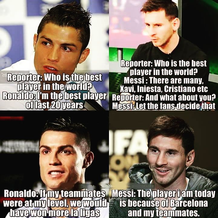 Messi is much better then Ronaldo