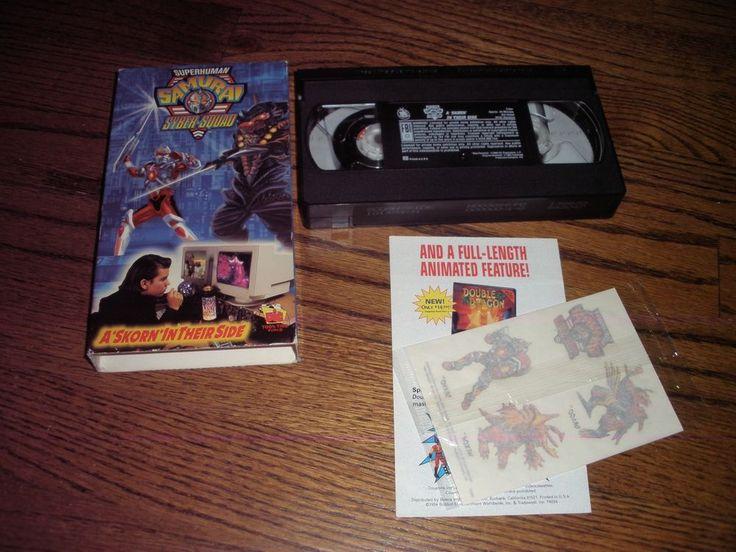 Superhuman Samurai Syber-Squad - A Skorn in Their Side (VHS, 1994)