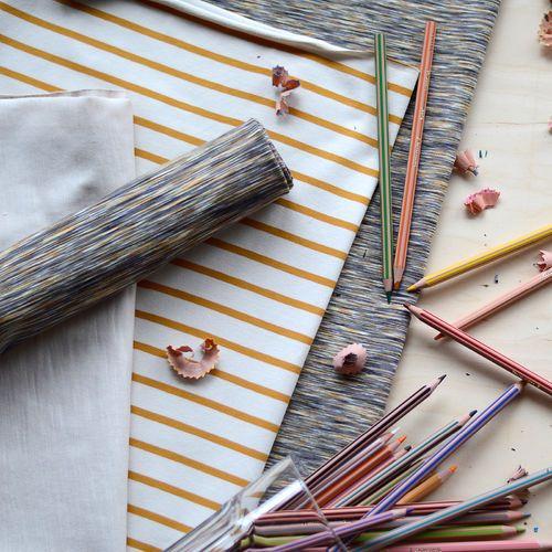 Jersey, Fantasia ruskea| NOSH Fabrics Pre Autumn Collection 2016 is now available at en.nosh.fi | NOSH syksyn ennakkomalliston 2016 kankaat ovat nyt saatavilla nosh.fi