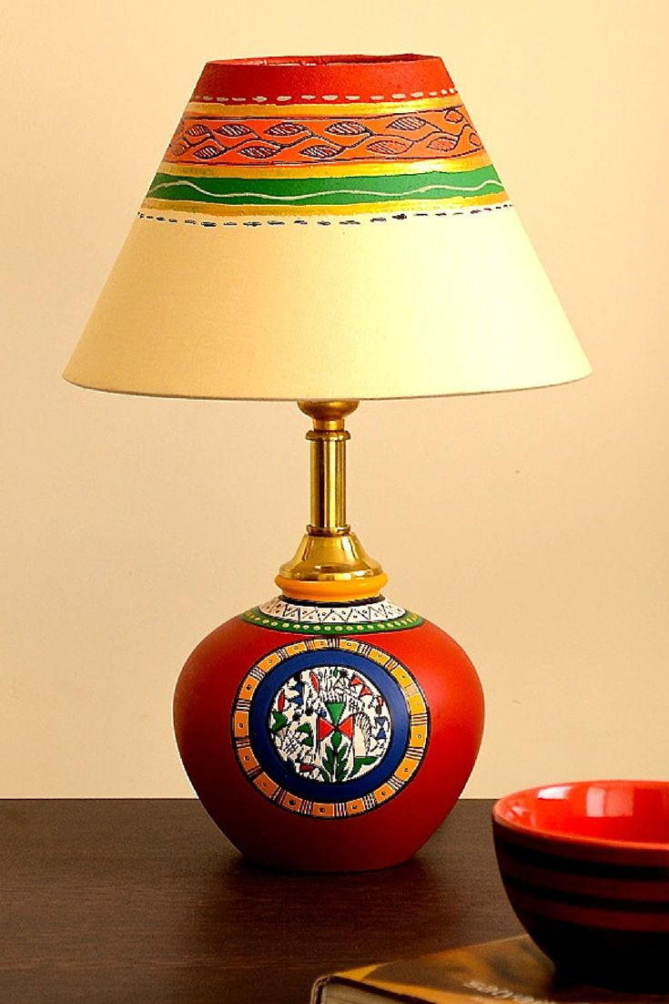 19 best unravel india lamps images on pinterest lamps light hand painted terracotta lamp from unravelindia mozeypictures Choice Image