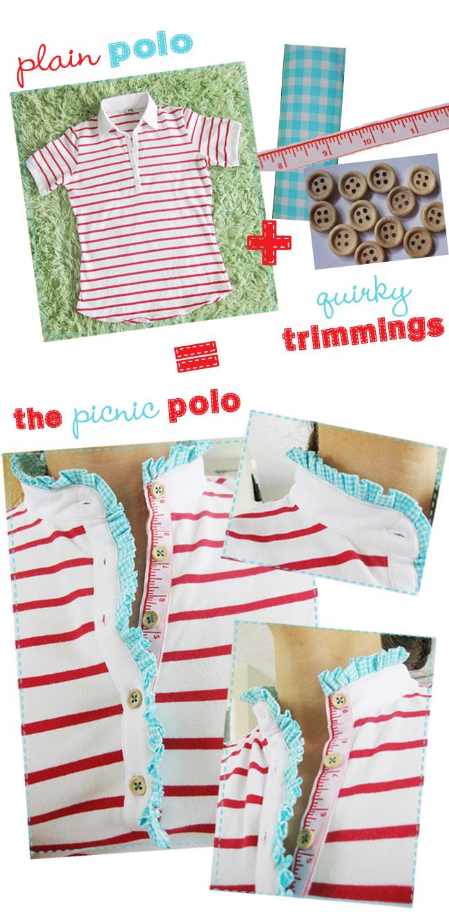 I absolutely adore this DIY shirt from polkadots and puppies!