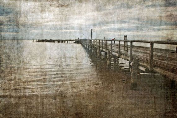 Photographic Art Print Distressed Australia by TDMillerArtPrints