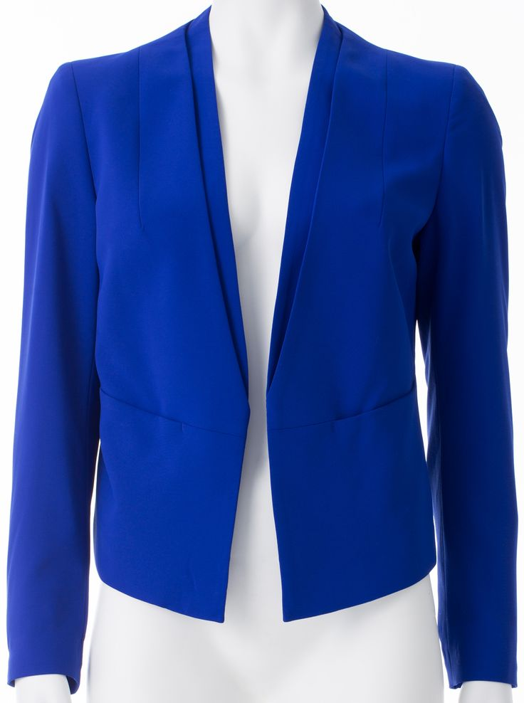Veston bleu, RW&CO, 129,90$ * Blue jacket, RW&CO, $129.90