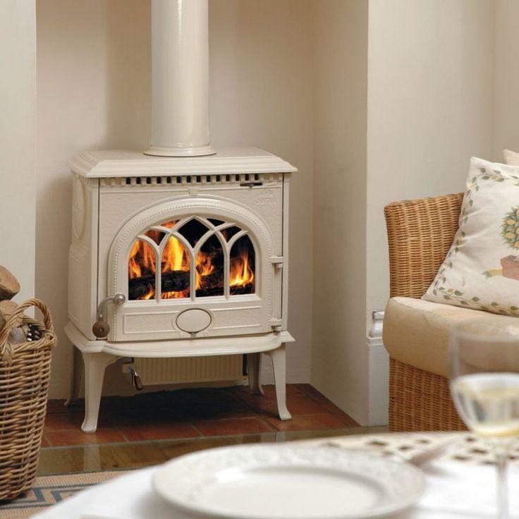 17 mejores ideas sobre chimenea esmaltada en pinterest - Mejor estufa de lena ...