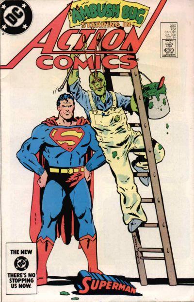 Action Comics 560; Superman, Ambush Bug, Keith Giffen