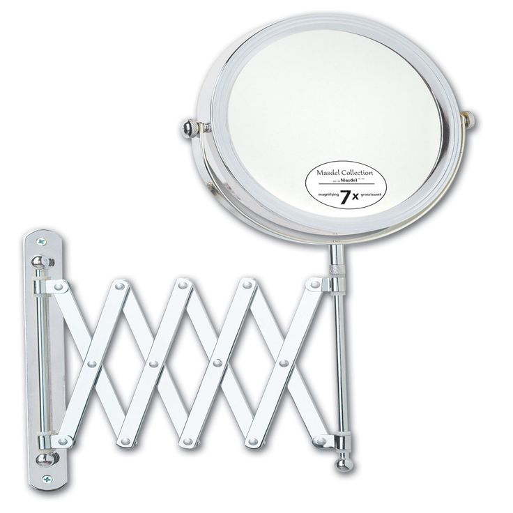 Jerome Alexander HB371 Stretchable Mirror with 7X Magnification