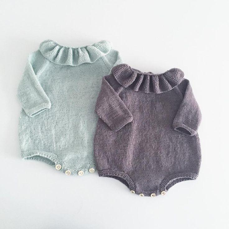 Farvorit model til #perledragt #knittingforolive #babystrik #knitformykid #knitting