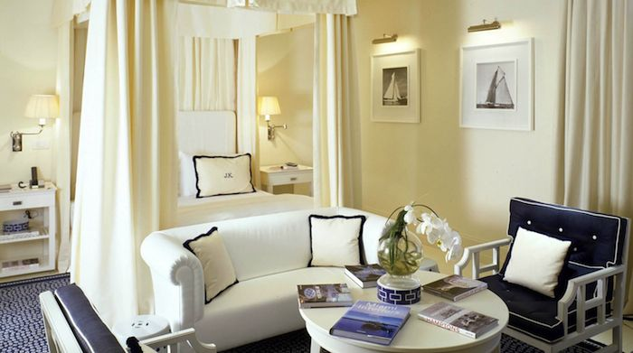 JK Place CapriDecor, Beach House, Guest Bedrooms, Interiors, Master Bedrooms, Places Capri, Canopies Beds, Jk Places, Luxury Hotels