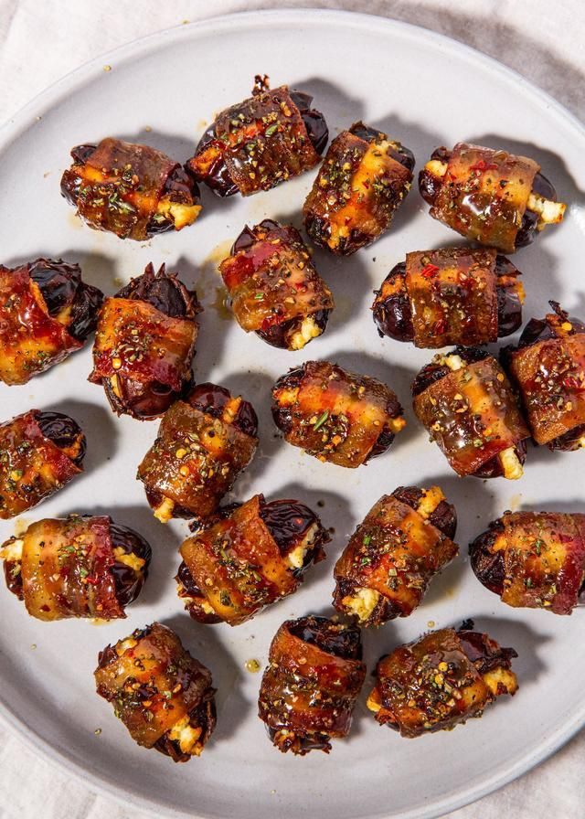 It's Impossible To Stop Eating These Bacon Wrapped Dates