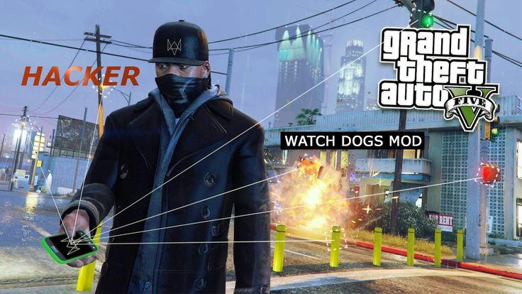 GTA V Watch Dogs Mod