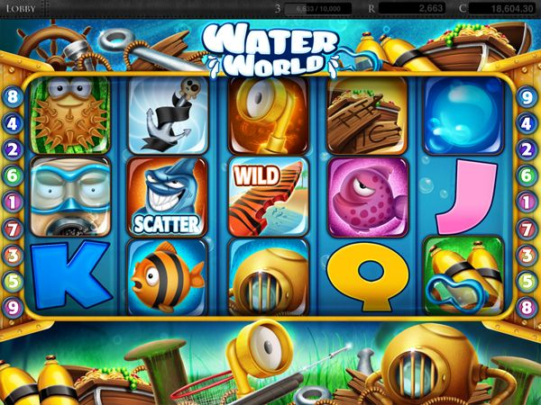 """Casinomatic"" Slot game design on Behance"