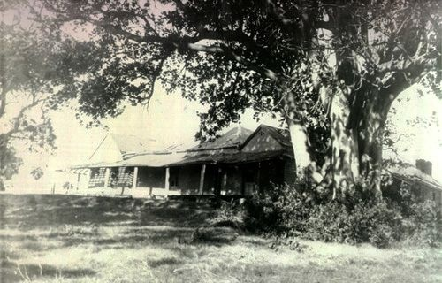 Waratah House, Mayfield built 1848 demolished by BHP 1933 to erect a pipe mill