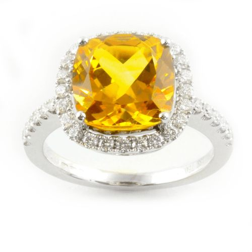 Grenadine citrine with diamonds #diamondsplease #diamonds #luxury #jewellery