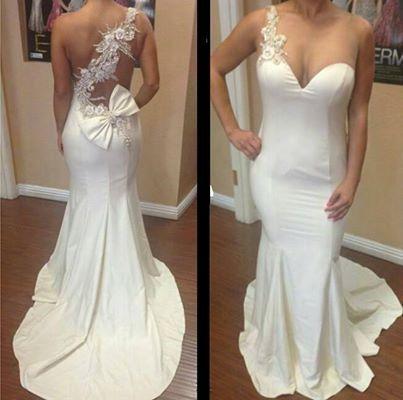 Wedding Dresses #stunning #white #train