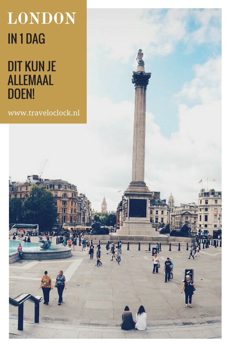 Londen in 1 dag | dit kun je allemaal doen in 1 dag | via It's Travel O'Clock